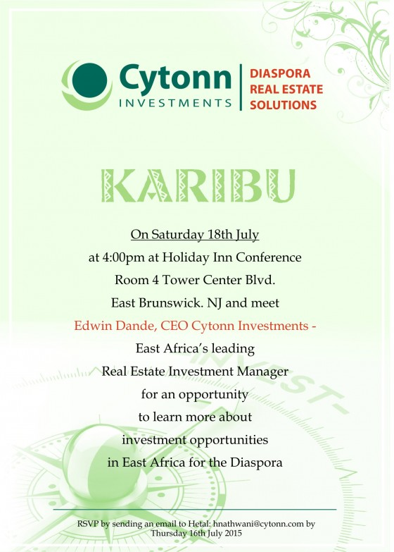 Cytonn Investments CEO Edwin Dande Presents Real Estate
