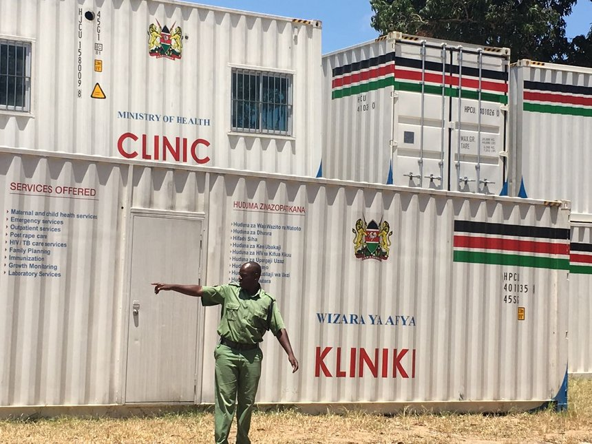 Image result for container clinics in Kenya