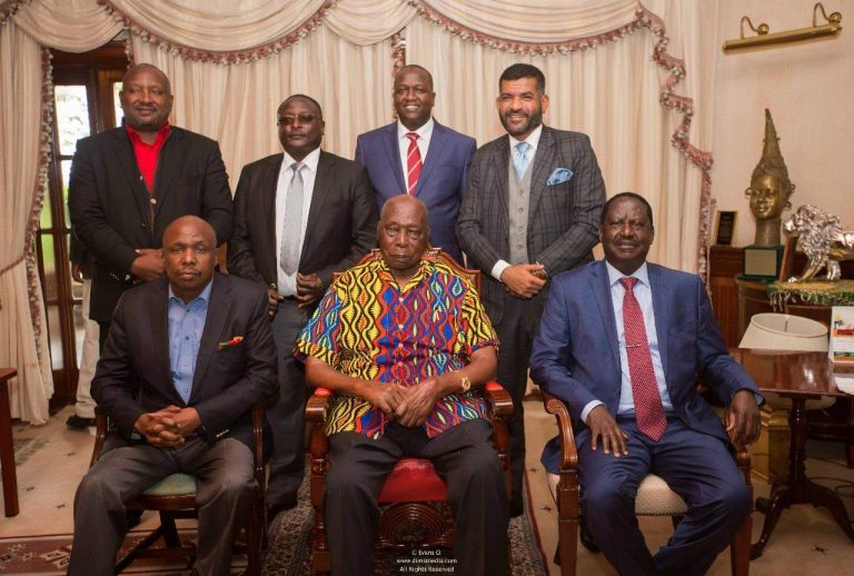PHOTOS) RETIRED PRESIDENT DANIEL MOI TURNING OUT TO BE A KEY ...