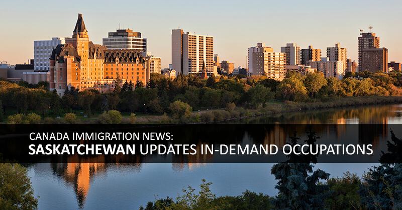 Canada:Saskatchewan invites 926 Occupation In-Demand and