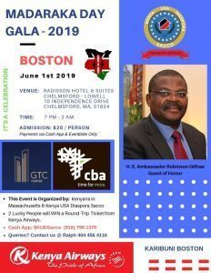 Kenya USA Diaspora Sacco BOSTON Annual General Meeting