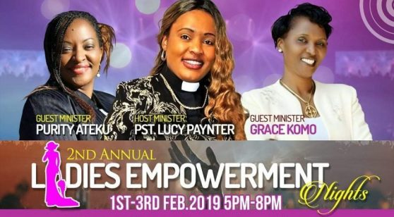 Glorious Power Church 2nd Annual Ladies Empowerment 1st -3rd February 2019