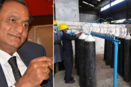 Billionaire Narendra Raval Pledges to Supply Free Oxygen Cylinders to Kenya Gov't Hospitals Until Corona virus is Eradicated
