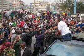 Raila opens up on having a 'nusu mkate' govt with Uhuru