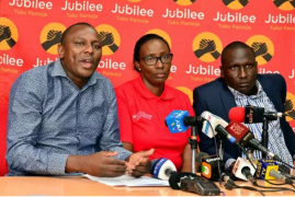 Jubilee exposes new alleged illegal NASA 'plan' on getting the election postponed after losing case to IEBC