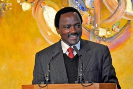 Gunfire outside Kalonzo Musyoka home in Karen