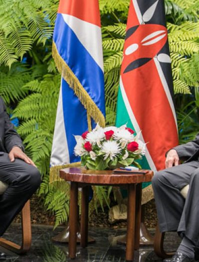 2018 REVIEW: Uhuru's trip to Cuba and life-changing goodies for Kenya