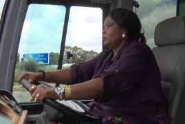 Keeping up with Africa's First Ladies: Zim FL drives bus with new class one license