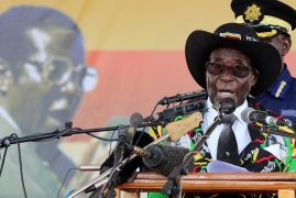 Mugabe off to Singapore for 'medical review,' days after turning 93