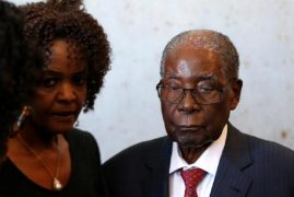 Mugabe in Singapore hospital since April – Zimbabwe prez