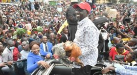 Drama as MP Ngunjiri Wambugu, Supporters Storm DP Ruto's Meeting in Nyeri (Video)