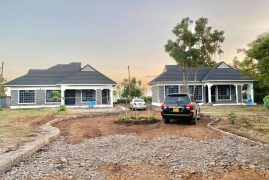 Reactions as Polygamous Kenyan Man Builds Identical Houses for His Wives