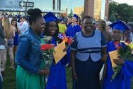 Kenyan Mothers Pride as her twin girls graduate,shortly after receiving her second gift of life