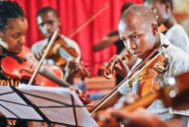 Youth orchestra transforming lives in Nairobi slum