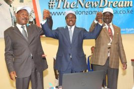 Kalonzo launches website, says Kenya ripe for change