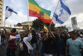 Israelis of Ethiopian descent protest 'police brutality'