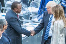 Uhuru meets Trump at G7 summit in Italy