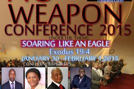 NO WEAPON CONFERENCE by Trumpet of Faith Intl. Ministries