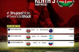 PROMOTERS UNITE FOR KENYA RUGBY