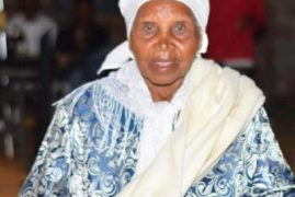 Transition/Death Announcement of Julia Waithera Njuguna Mother in law to Theresa Njuguna (USA)