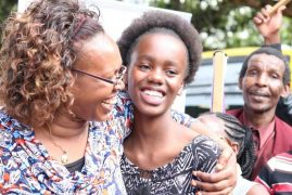 One on One with top KCPE 2018 performer Olive Wachira(Video)