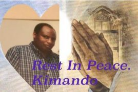Transition/Death Announcement of Edward Kimando (Baba Ian) of Lowell,Massachusetts