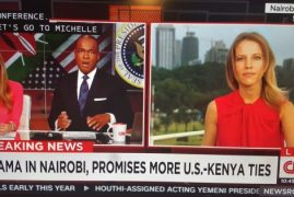 President Obama Joins President Kenyatta of Kenya in a Joint Press Conference