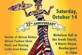 DINNER AND FASHION SHOW CELEBRATES NEWBURYPORT'S 25 YEAR SISTER CITY RELATIONSIHP WITH BURA, KENYA