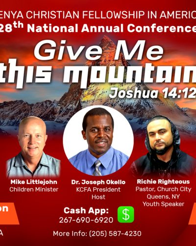 You're Invited to KCFA Annual National Conference combined with WIN BIG Raffle Ticket Drawing to determine Winners