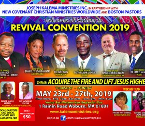 4th Annual All Nation World Wide Convention 2019 Memorial Weekend 5 Days Revival Covention . Thur May 23rd - Mon 27th 2019.