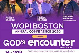 WOPI BOSTON ANNUAL CONFERENCE 2020 August 14-16 2020 @ 161 North Street Newtonville,Massachusetts