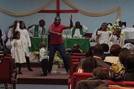 Ciiku Dance Group:St James Community Church,Attleboro Massachusetts