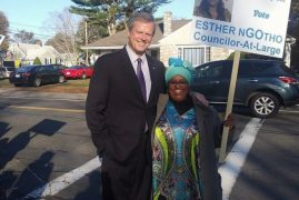 American of Kenyan origin Esther Ngotho, vie's for Beverly At-Large City Councillors post