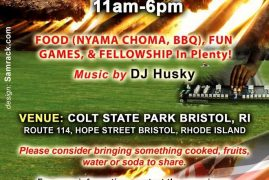 KCFA BOSTON Invites you to 2016 Annual Cookout Sun.AUGUST 14 2016 @11Am -6Pm