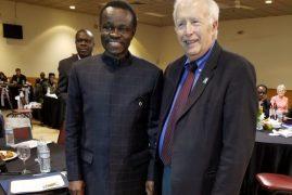 "Prof .PLO Lumumba ""Make Africa Great Again"" Boston,Massachusetts"