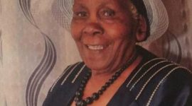 TRANSITION/DEATH ANNOUNCEMENT/MEMORIAL SERVICE of  Mrs. Esther W. Warutere (Purity Warutere's Mother)