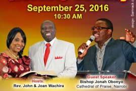Christ is the Answer Church invites you to a Powerful Worship Sunday Sept 25th 2016 @10:30Am