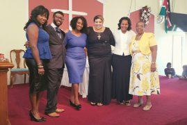 Carol Wanjiru Munduiriri @St Stephen's Church Lowell,Massachusetts