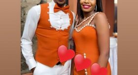 Media personality Rev Lucy Wangunjiri son weds his long time girlfriend in a traditional ceremony.