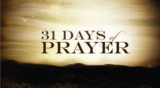 31-DAY PRAYER FOCUS