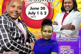 "Glorious Power Church ""Perfected Praise Summit June 30,July 1 & 2 2017 with Bishop William Githinji & Florence Maina(Anita Flo) Host Pst Lucy Paynter (G.P.C)"