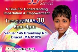 "Well of Worship Presents ""Beauty for Ashes"" with Christina Shusho Tuesday Worship Service  May 30th 2017 @ 6Pm"
