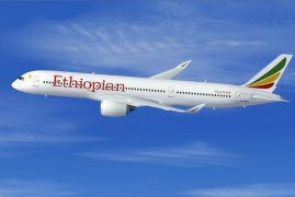 Photos:Ethiopian Airlines' First A350 XWB Rolls Out of Paint Shop
