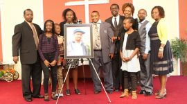 Thanksgiving & Memorial Service held for the  late George Njoroge Njenga