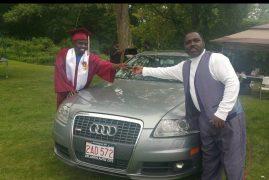 Geoffrey Mwangi lands deal for new Audi A6 3.2