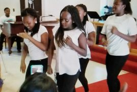 """St Pauls Community Church Lawrence,Massachusetts """"All Nations Talents Day"""" Youth Dance Group {Video}"""