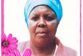 TRANSITION/DEATH ANNOUNCEMENT /Memorial Service of Grace wairuri Karega in (Ngecha,Limuru Kenya )