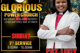 Glorious Power Church, Order of Services Sunday 1st Service 9:00Am-10:30Am & 2nd Service 11:00Am-12:30Pm