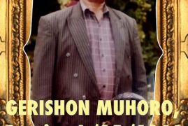 Memorial service/prayers on Friday Nov 10 2017of Gershon Muhoro (father to James Muhoro and Frasiah Karanja of Dracut,Massachusetts)