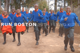 Flying Kites is gearing up for the 2018 Boston Marathon and we want you on our team.